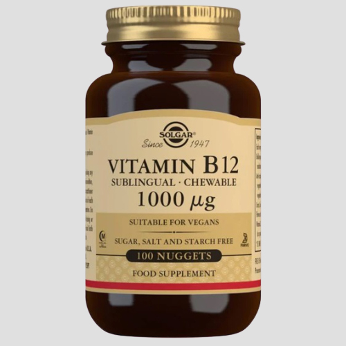 SOLGAR - Vitamin B12 1000 mcg Sublingual Chewable Nuggets Highgate North London